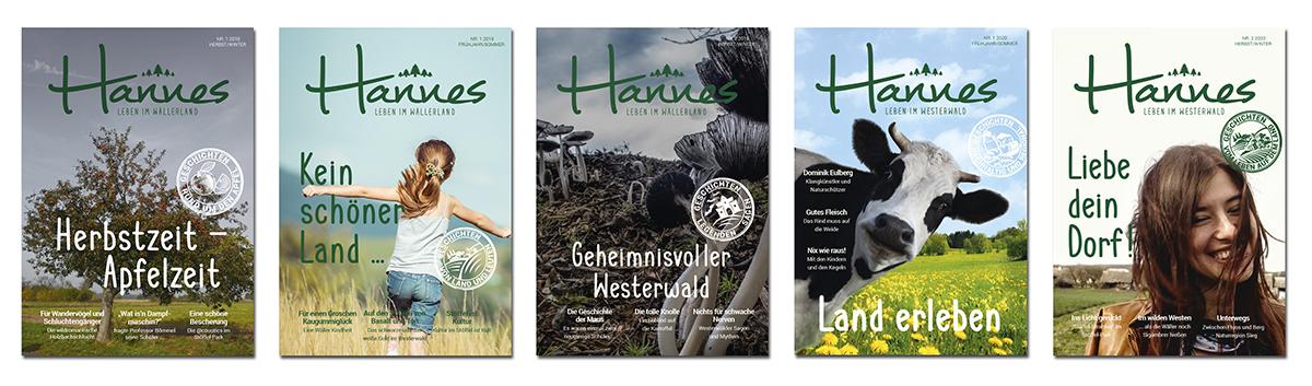 HANNES – das Magazin für Tourismus und Spaß an der Heimat